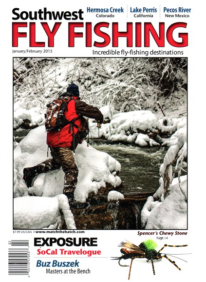Southwest Fly Fishing Cover - 1/1/2015