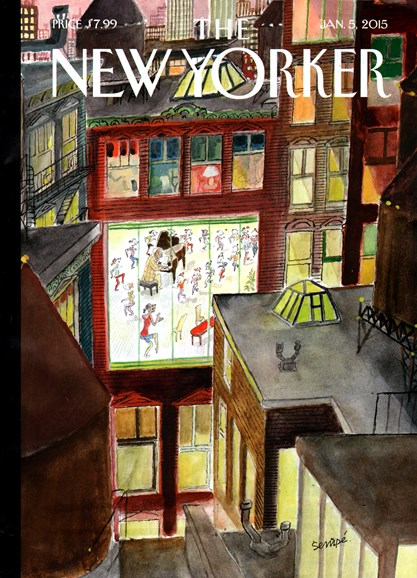 The New Yorker Cover - 1/5/2015