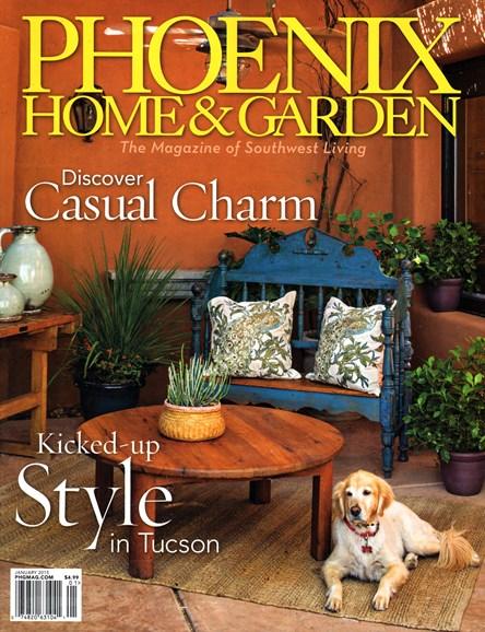 Phoenix Home & Garden Cover - 1/1/2015