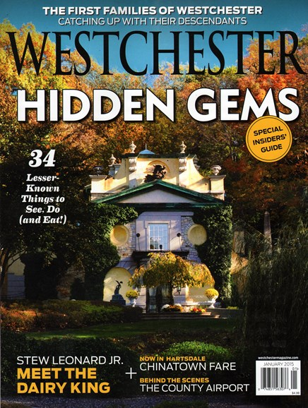 Westchester Magazine Cover - 1/1/2015