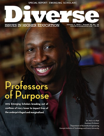 Diverse: Issues In Higher Education Cover - 1/1/2015