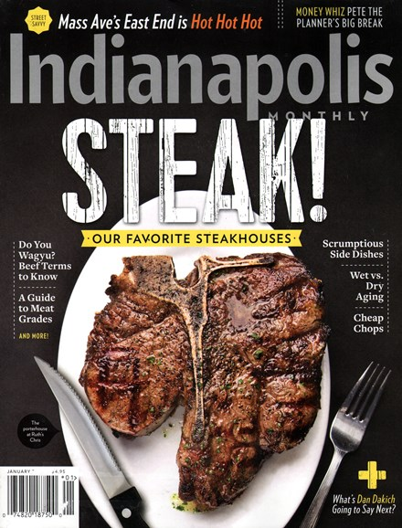 Indianapolis Monthly Cover - 1/1/2015