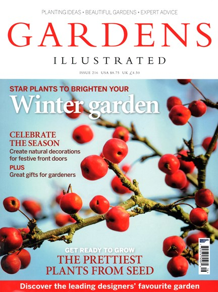 Gardens Illustrated Cover - 12/1/2014
