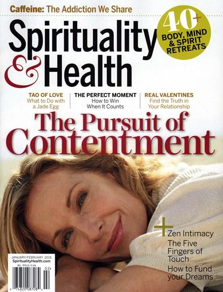 Spirituality & Health Cover - 1/1/2015