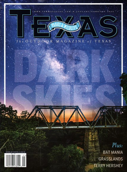 Texas Parks & Wildlife Cover - 1/1/2015
