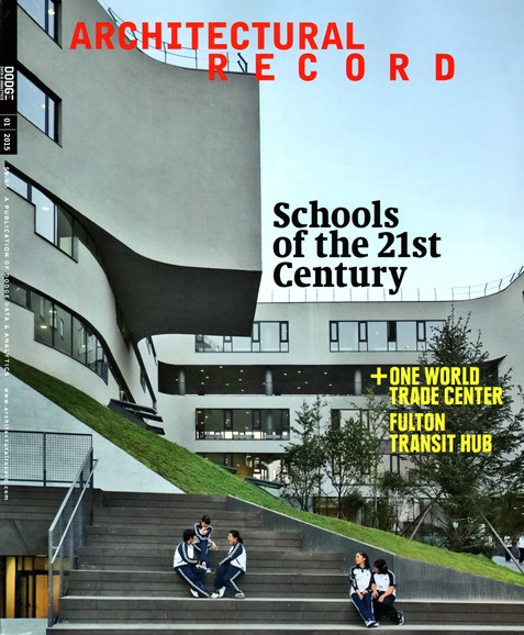 Architectural Record Cover - 1/1/2015