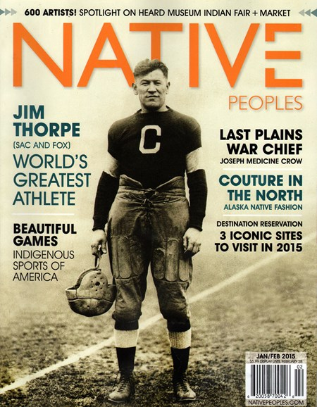 Native Peoples Cover - 1/1/2015