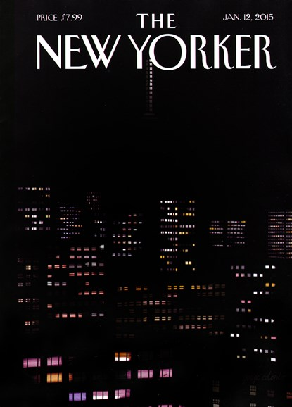 The New Yorker Cover - 1/12/2015