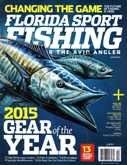 Florida Sport Fishing Cover - 1/1/2015