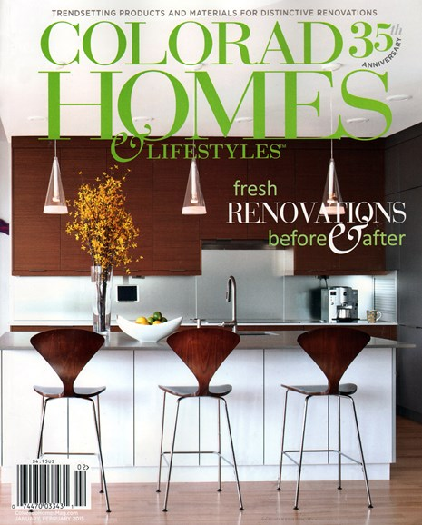 Colorado Homes & Lifestyles Cover - 1/1/2015
