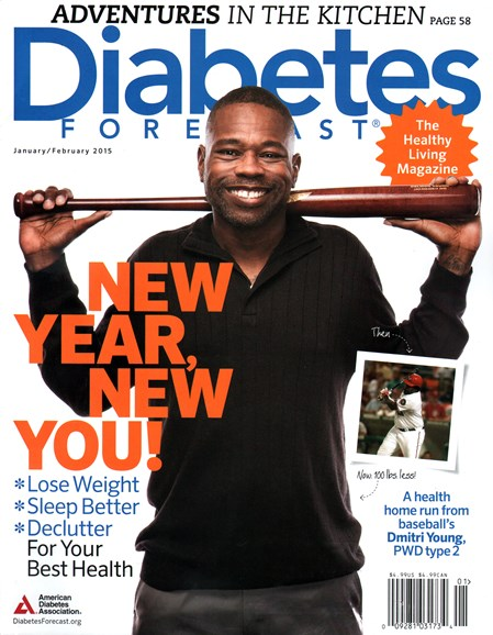 Diabetes Forecast Cover - 1/1/2015
