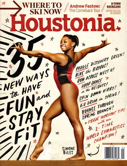 Houstonia Cover - 1/1/2015