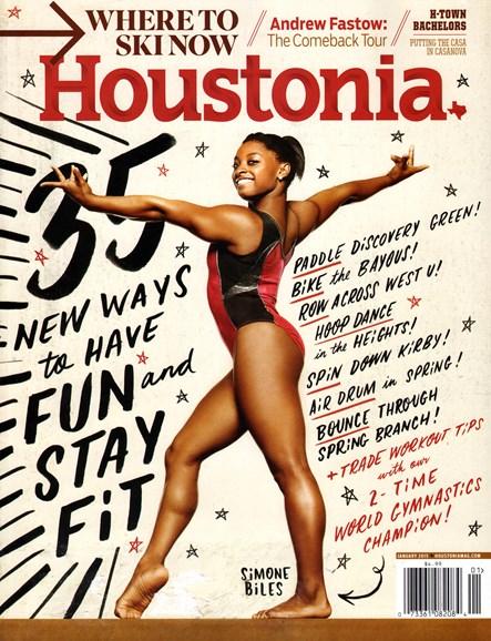 Houstonia Cover - 1/1/2015
