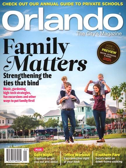 Orlando Magazine Cover - 1/1/2015