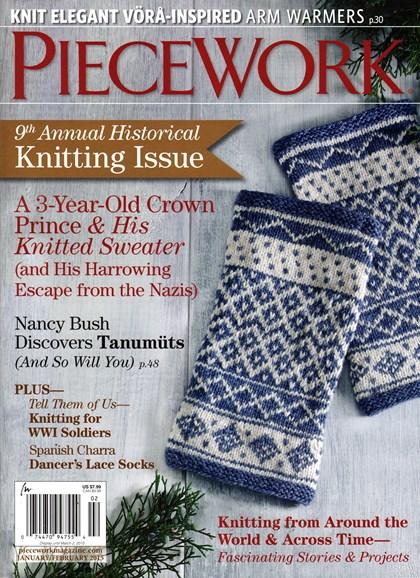 Piecework Cover - 1/1/2015