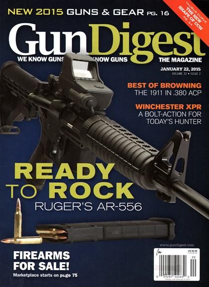Gun Digest Cover - 1/22/2015