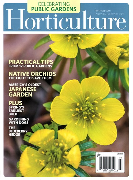 Horticulture Cover - 1/1/2015