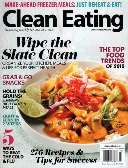 Clean Eating Cover - 1/1/2015