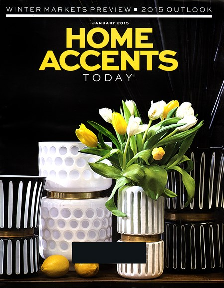 Home Accents Today Cover - 1/1/2015