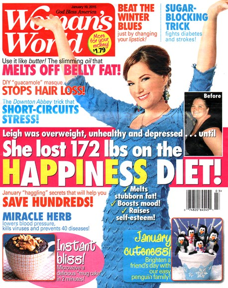 Woman's World Cover - 1/19/2015