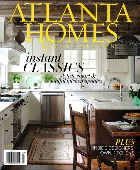 Atlanta Homes & Lifestyles Cover - 1/1/2015