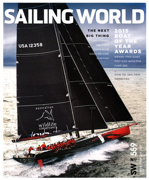 Sailing World Cover - 1/1/2015