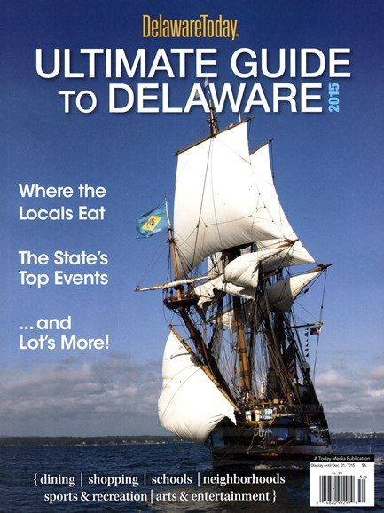 Delaware Today Cover - 1/1/2015