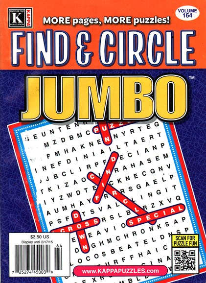 Find & Circle Jumbo Cover - 2/1/2015