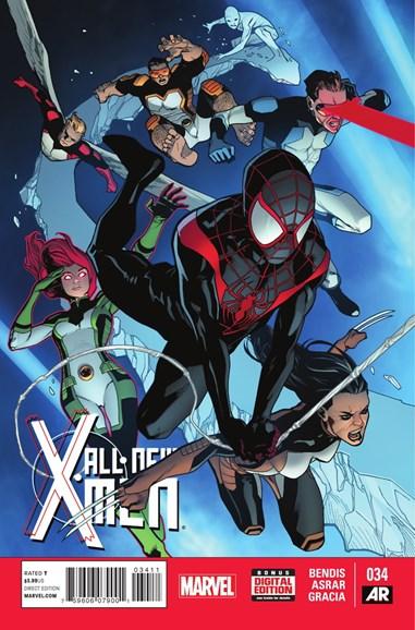 X-Men Blue Cover - 1/1/2015