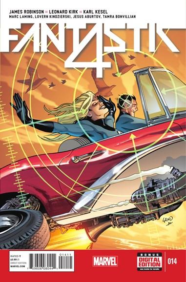 Fantastic Four Cover - 2/1/2015