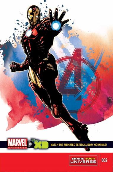 Marvel Universe Avengers Assemble Cover - 2/1/2015