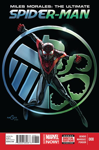 Miles Morales: Spider-Man Cover - 2/1/2015