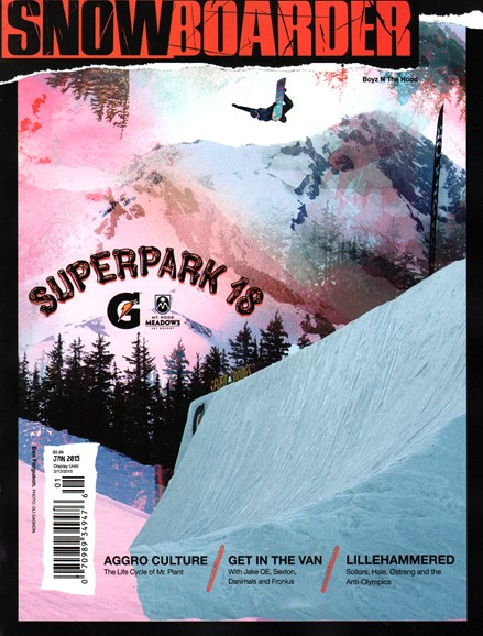 Snowboarder Cover - 1/1/2015