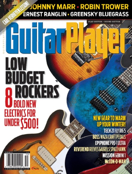 Guitar Player Cover - 12/1/2014