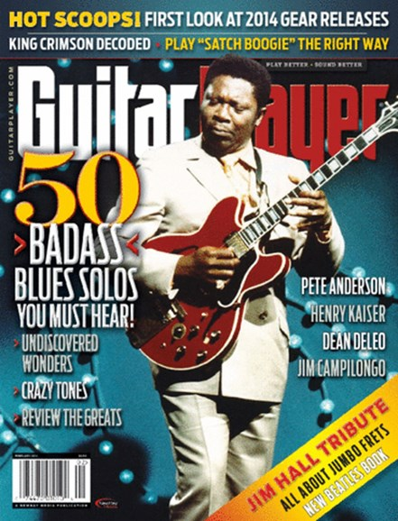 Guitar Player Cover - 2/1/2014