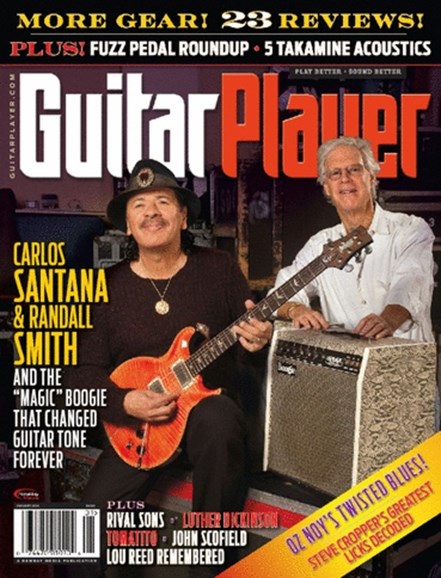 Guitar Player Cover - 1/1/2014