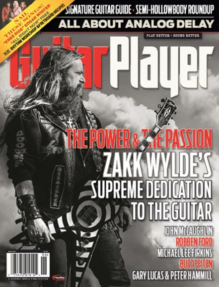 Guitar Player Cover - 6/1/2014