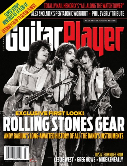 Guitar Player Cover - 3/1/2014