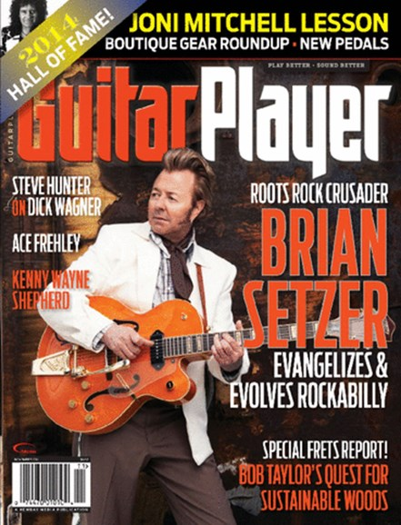 Guitar Player Cover - 11/1/2014