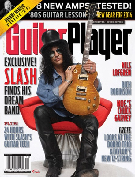 Guitar Player Cover - 10/1/2014