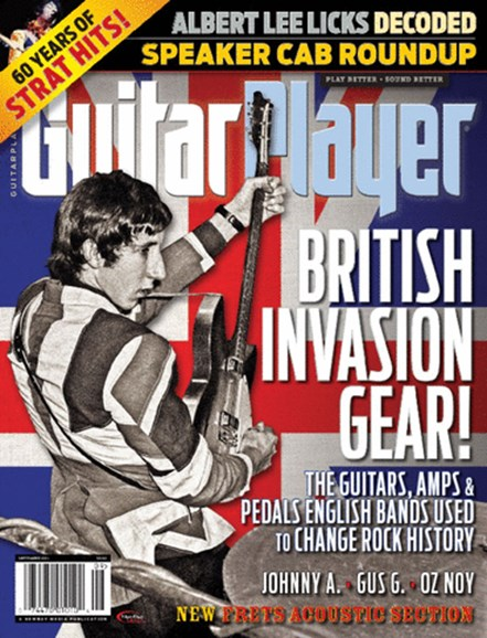 Guitar Player Cover - 9/1/2014