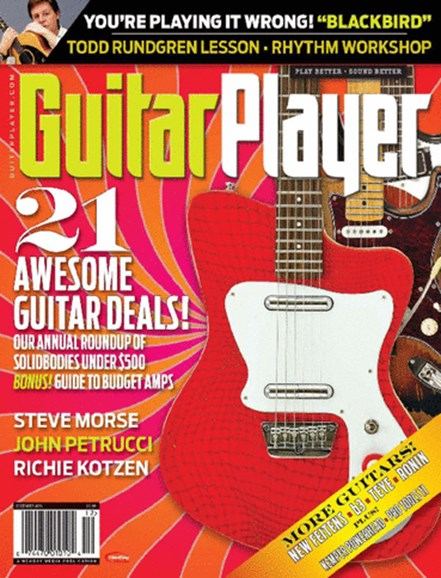 Guitar Player Cover - 12/1/2013