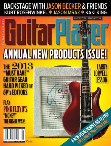 Guitar Player Cover - 4/1/2013