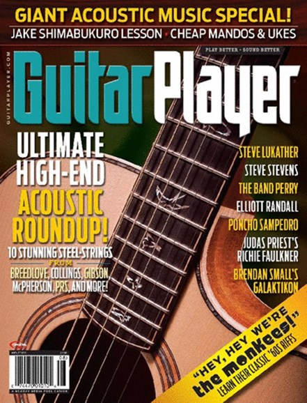 Guitar Player Cover - 8/1/2013