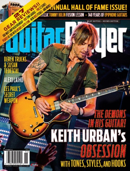 Guitar Player Cover - 11/1/2013