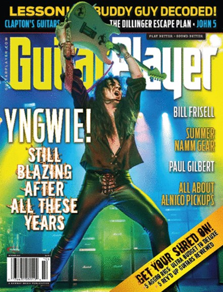 Guitar Player Cover - 10/1/2013