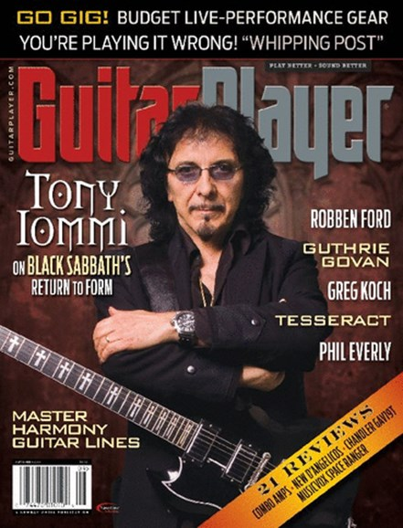 Guitar Player Cover - 9/1/2013