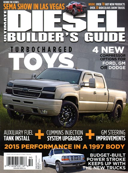 Ultimate Diesel Builder's Guide Cover - 2/1/2015