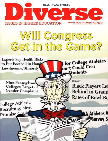 Diverse: Issues In Higher Education Cover - 1/15/2015