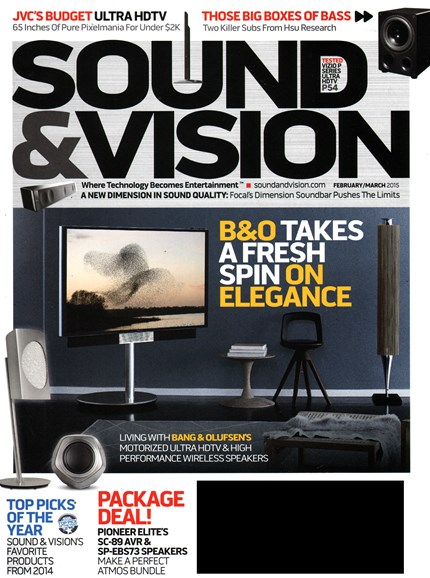 Sound & Vision Cover - 2/1/2015